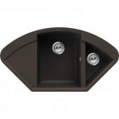 Кухонная мойка OMOIKIRI SAKAIME 105C-DC (тёмный шоколад)