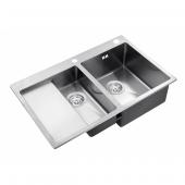 Кухонная мойка Zorg Inox RX-5178-2-R
