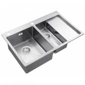 Кухонная мойка Zorg Inox RX-5178-2-L